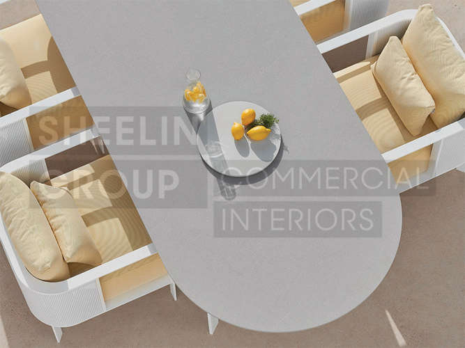 02 Outdoor Dining Table_Solanas_Top View