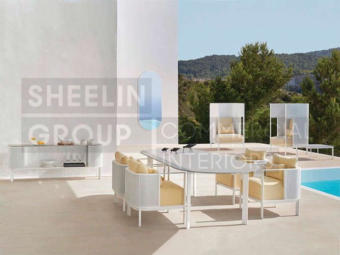 04 Outdoor Dining Table_Solanas_Set