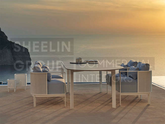 05 Outdoor Dining Table_Solanas_White