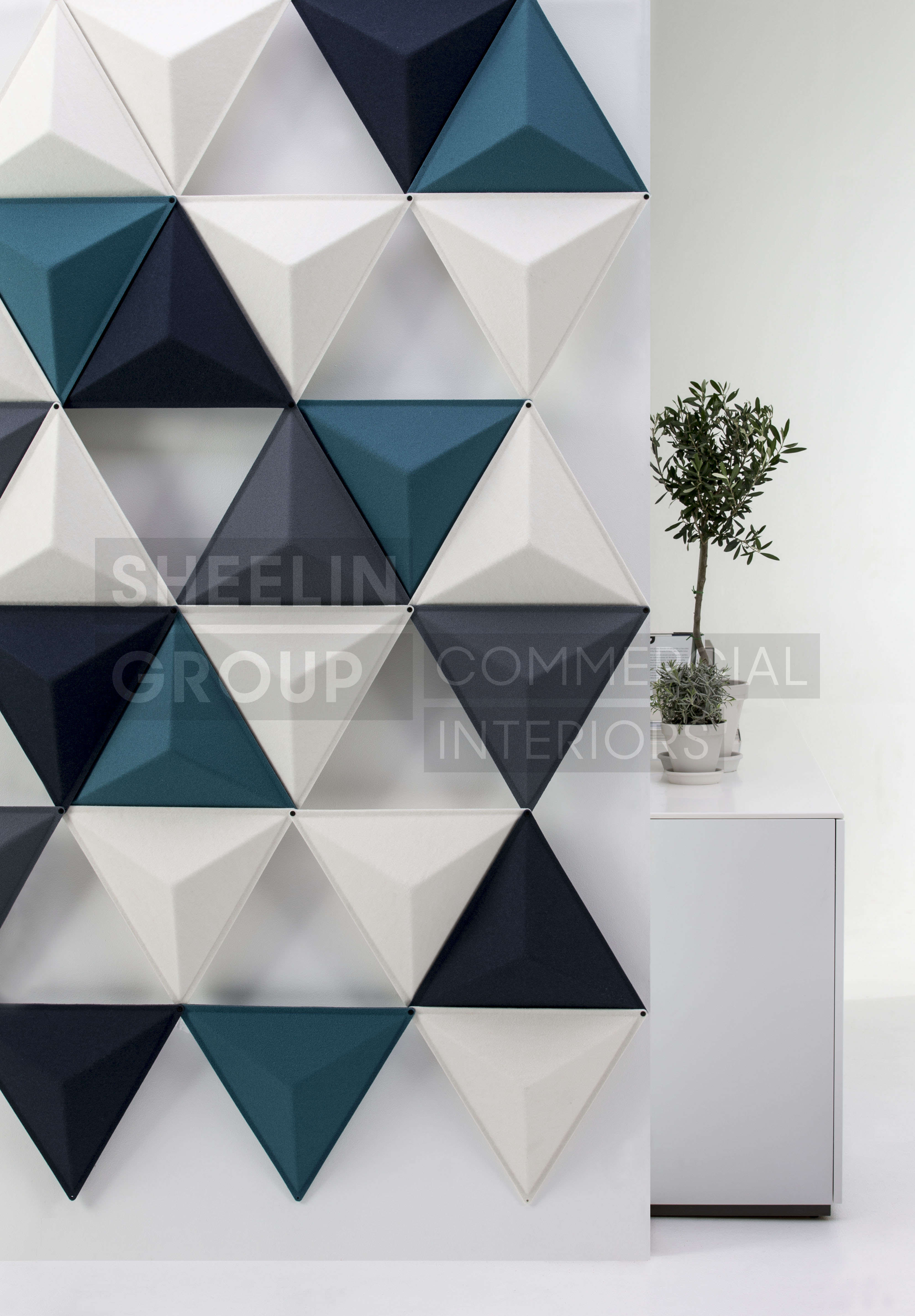 reception accessories acousic panels abstracta aircone 1