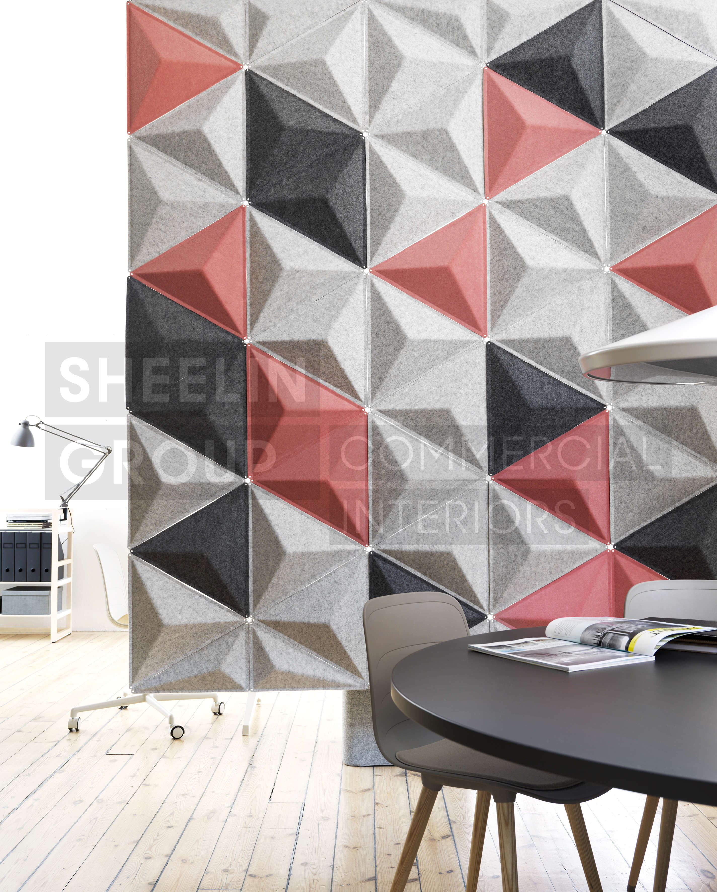 reception accessories acousic panels abstracta aircone 2