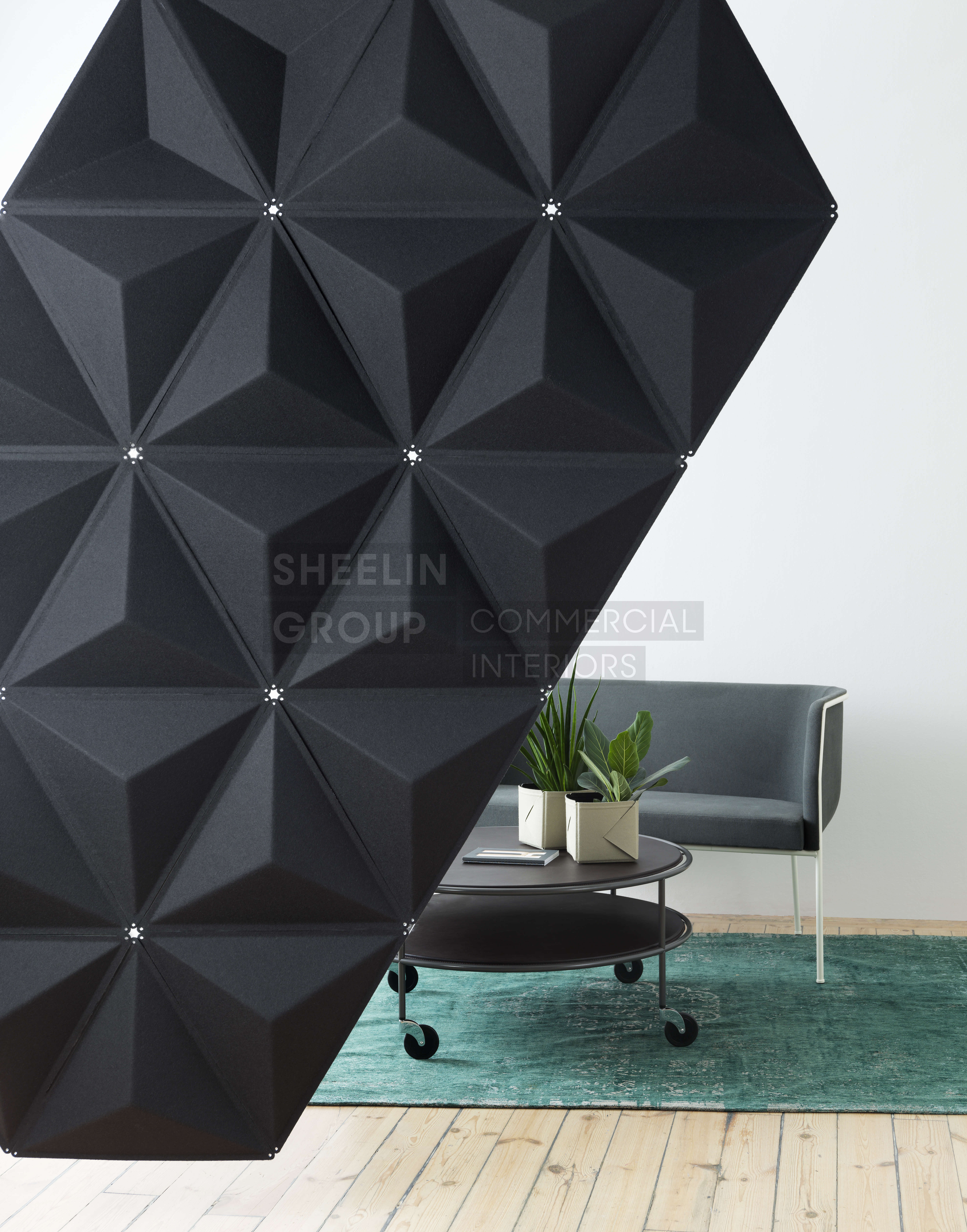 reception accessories acousic panels abstracta aircone 3