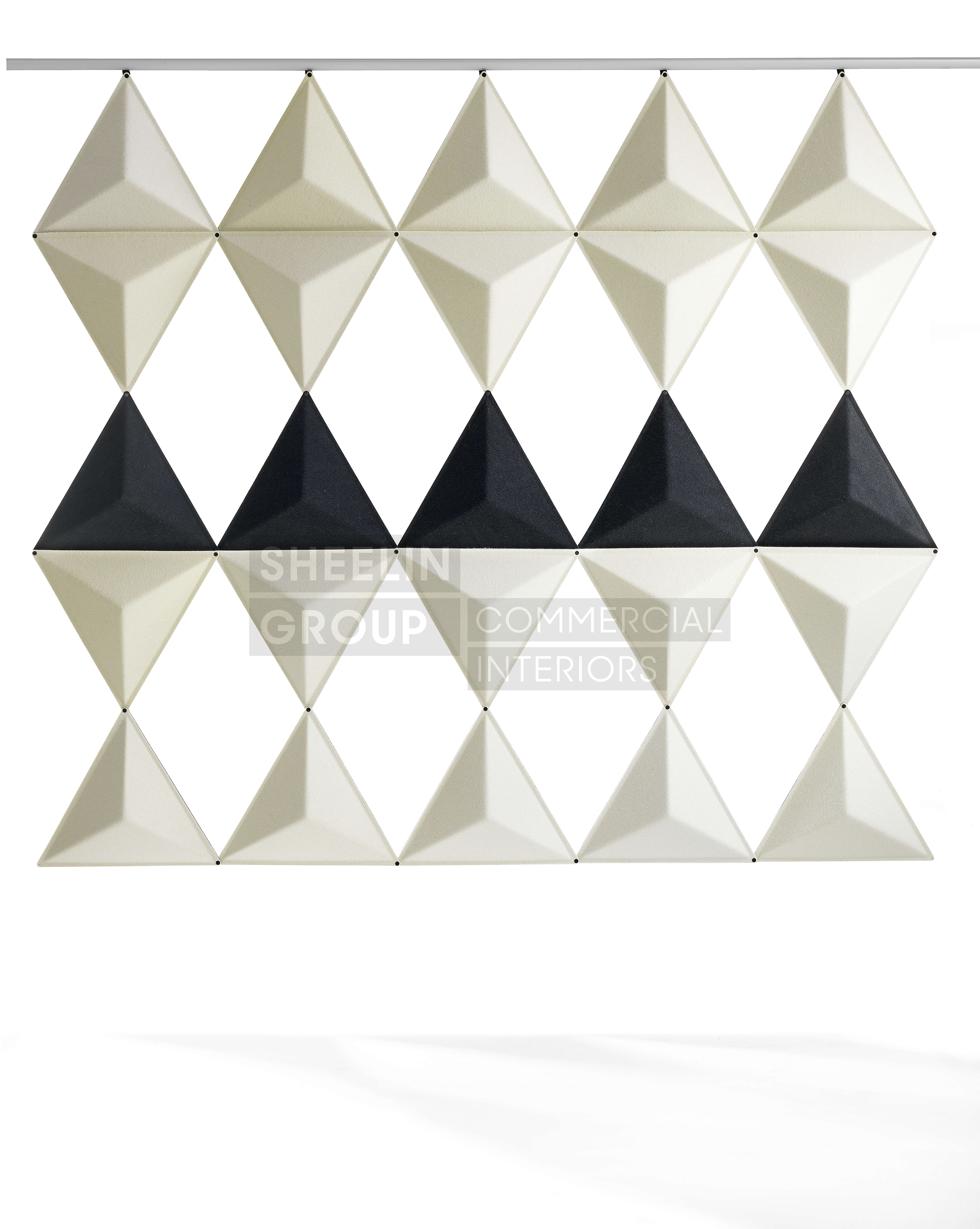 reception accessories acousic panels abstracta aircone 4