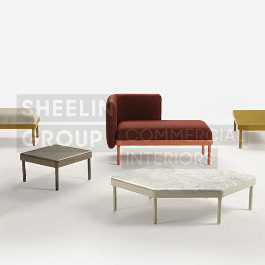 reception seating modular seating sancal mosaico 4